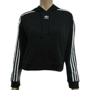 CY4766 Adidas Women's Originals Crop-Top Hoodie